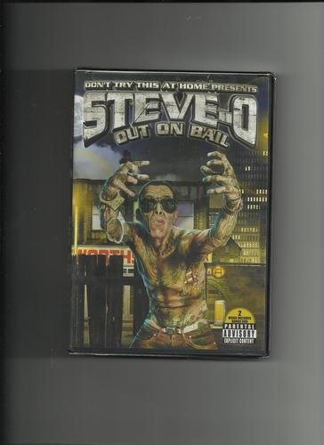 Steve O Vol. 3 Out On Bail Clean Version 2 DVD Set