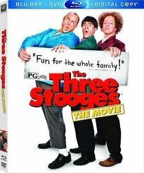 Three Stooges (2012) Hayes Diamantopoulos Sasso Blu Ray