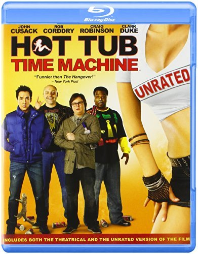 Hot Tub Time Machine Cusack Corddry Robinson Blu Ray Ws Ur