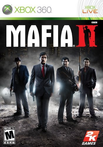Xbox 360 Mafia 2 Platinum Hits (2 Discs Take 2 Interactive M