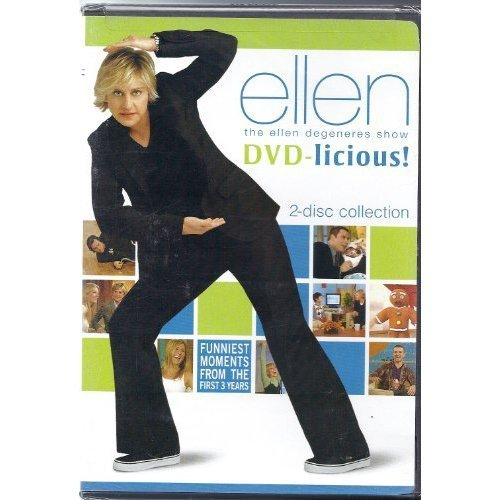 Ellen Degeneres Show DVD Licious Funniest Moments From The First 3 Year