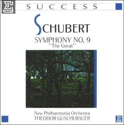 "New Philharmonia Orchestra Theodor Guschlbauer Schubert Symphony 9 ""the Great"""