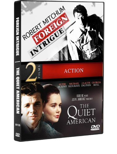 Foreign Intrigue The Quiet Ame Mitchum Robert Nr