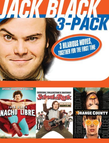 Nacho Libre School Of Rock Ora Black Jack Nr 3 DVD