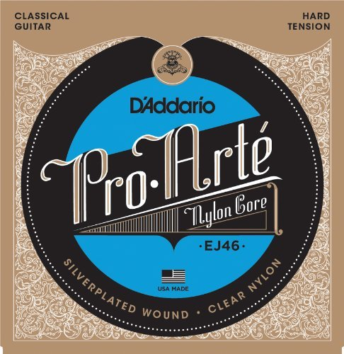 D'addario Nylon Hard Tension
