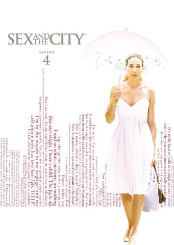Sex & The City Sex & The City Season 4 New Package Season 4