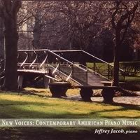 Haimo Crumb Bestor New Voices Contemporary Ameri Jacob*jeffrey (pno)