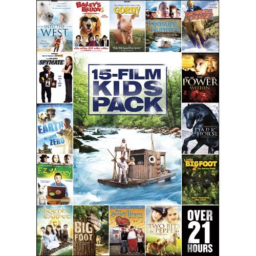 15 Movie Kids Pack 15 Movie Kids Pack Ws Nr 3 DVD