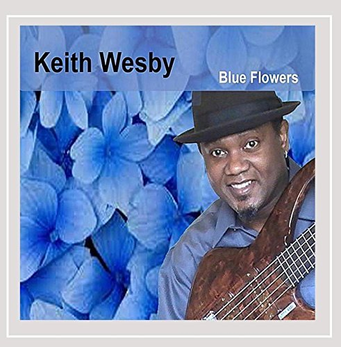 Keith Wesby Blue Flowers