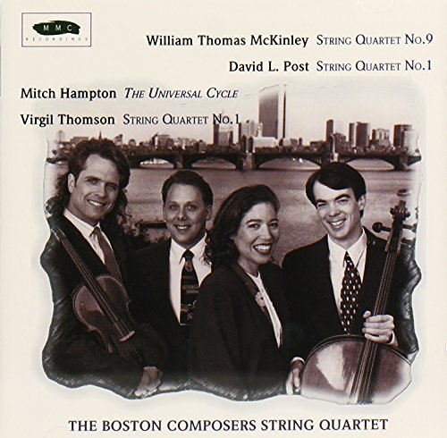 Mckinley Post Hampton Thomson Qt Str 9 Qt Str 1 Qt Str 1 Qt Boston Composers Str Qt