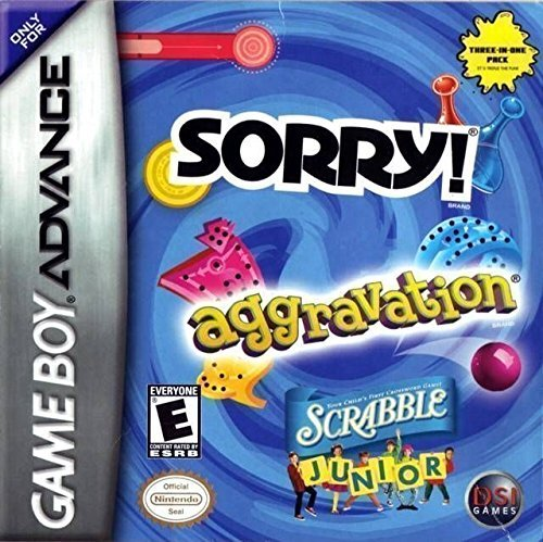 Gba Aggravation Sorry Scrabble Jr