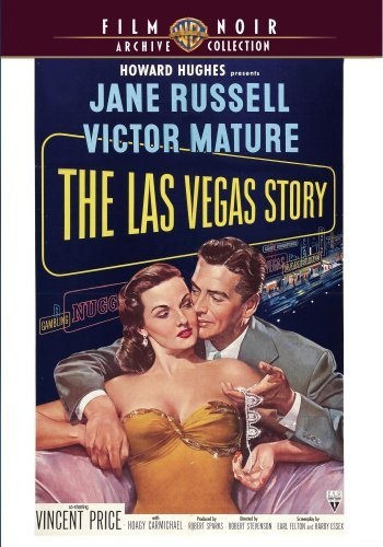 Las Vegas Story (1952) Russell Mature Price Made On Demand Nr