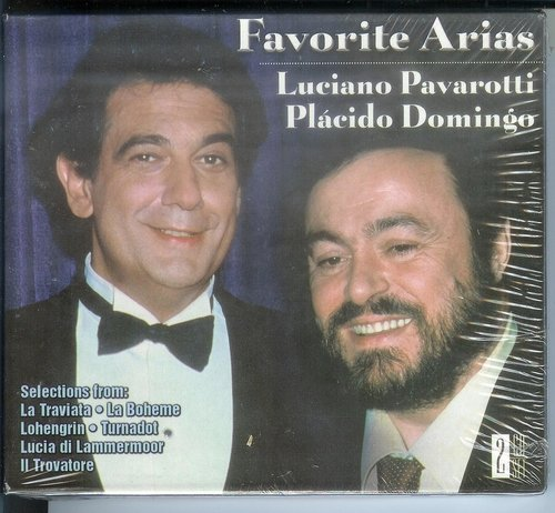 Pavarotti Domingo Favorite Arias Pavarotti (ten) Domingo (ten)