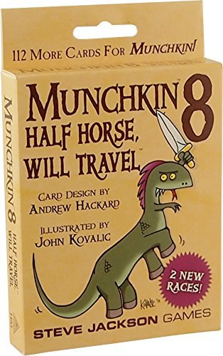 Steve Jackson Games Munchkin 8 Half Horse Will Travel