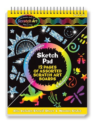 Toy Scratch Art Sketch Pad
