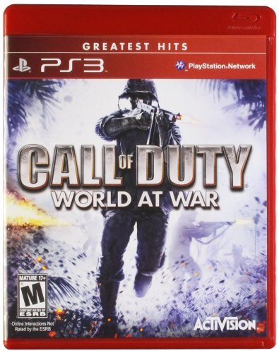 Ps3 Call Of Duty World At War Gre Activision Inc. M