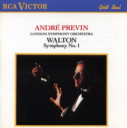 William Walton Vaughan Williams Previn London Symp Walton Symphony No. 1 Vaughan Williams The Was