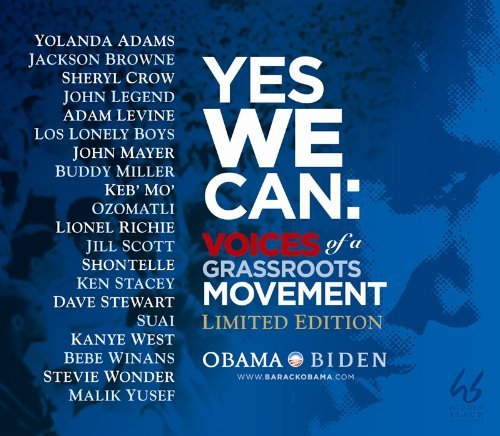 Yolanda Adams Jackson Brownse Sheryl Crow John Leg Yes We Can Voices Of A Grassroots Movement (limit