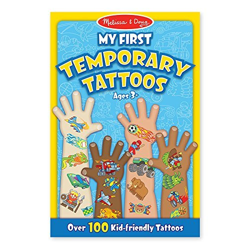 Toy My First Temporary Tattoos Blue