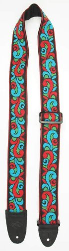 Guitar Strap Psychedelic