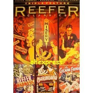 Reefer Classics Triple Feature Reefer Madness Marihuana Cocaine Fiends
