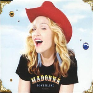 Madonna Don't Tell Me Pt. 1 Import Swe