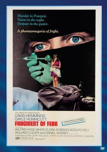 Fragment Of Fear Culver Hemmings Hunnicutt DVD R Pg