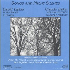 Liptak Baker Songs & Night Scenes Sharp*william (bar)