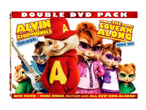 Alvin & The Chipmunks Squeakquel Squeakalong Ws Side By Side Pg
