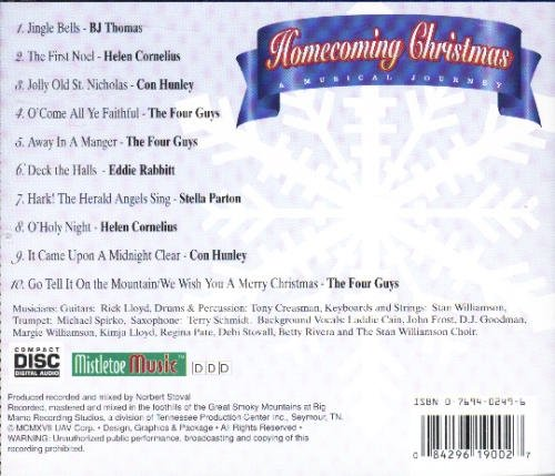 Homecoming Christmas A Musical Journey Homecoming Christmas A Musical Journey
