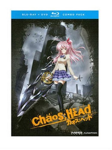 Chaos Head Complete Series Ws Blu Ray Lmtd Ed. Tv14 4 DVD Incl. DVD