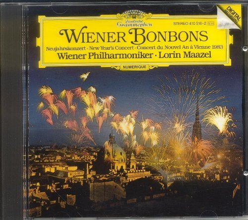 Johann Strauss Josef Strauss Lorin Maazel Vienna P Wiener Bonbons New Year's Concert With The Vienna