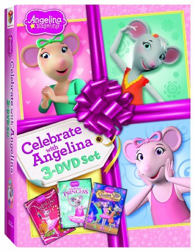 Celebrate With Angelina Angelina Ballerina Ws Nr 3 DVD