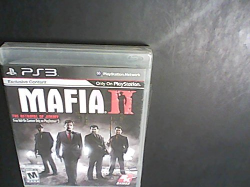 Ps3 Mafia 2 Greatest Hits Take 2 Interactive M