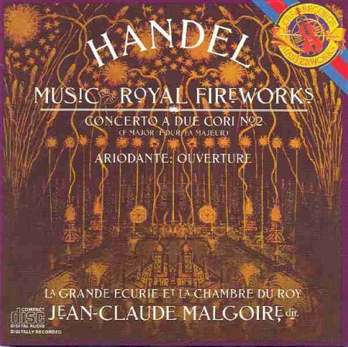 George Frideric Handel Jean Claude Malgoire La Gra Handel Music For The Royal Fireworks Ariodante Co