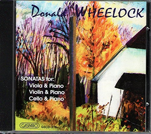 Donald Wheelock Sonatas For Strings Bagg Hawkins Wright Lewis &