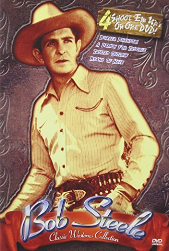 Classic Westerns Four Feature Steele Bob Nr