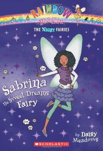 Daisy Meadows Night Fairies #7 Sabrina The Sweet Dreams Fairy A Rainbow Magic B