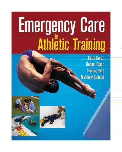 Keith M. Gorse Emergency Care In Athletic Training