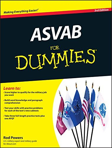Rod Powers Asvab For Dummies 0003 Edition;revised