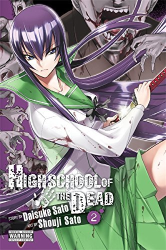 Daisuke Sato Highschool Of The Dead Volume 2