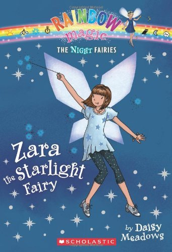 Daisy Meadows Night Fairies #3 Zara The Starlight Fairy A Rainbow Magic Book