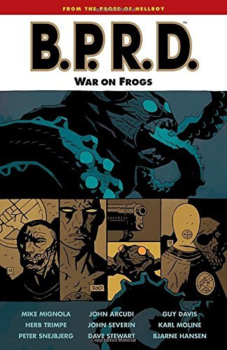 Mike Mignola War On Frogs