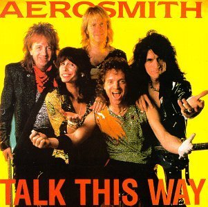 Aerosmith Talk This Way Interview Picture Disc