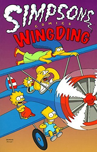 Matt Groening Simpsons Comics Wingding