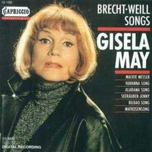 K. Weill Songs May*gisela (voice) Krtschil Berlin Studio Orch