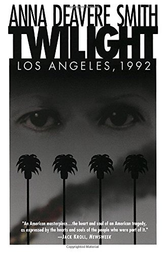 Anna Deavere Smith Twilight Los Angeles 1992