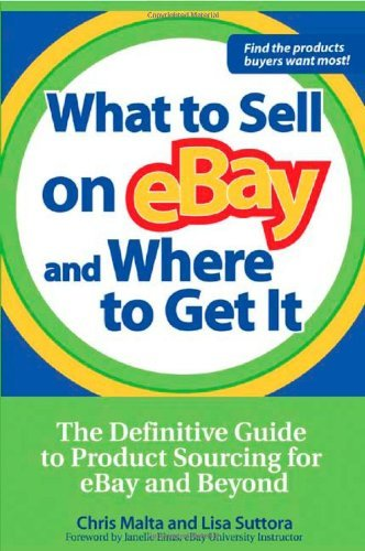 Chris Malta What To Sell On Ebay And Where To Get It The Definitive Guide To Product Sourcing For Ebay
