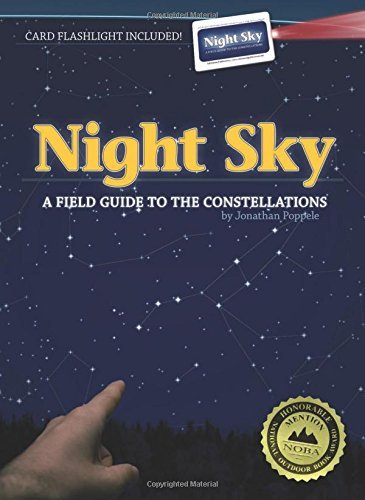 Jonathan Poppele Night Sky A Field Guide To The Constellations [with Card Fl