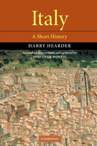Harry Hearder Italy A Short History 0002 Edition;revised